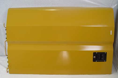 129-3396 ENGINE COMPARTMENT DOOR RIGHT-HAND - WITH LATCH & HINGE