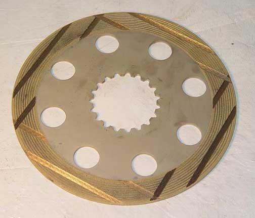 1342285C1 CASE BRAKE DISC (METALLIC)