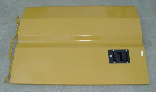 135-1343 ENGINE COMPARTMENT DOOR RIGHT-HAND - WITH LATCH & HINGE